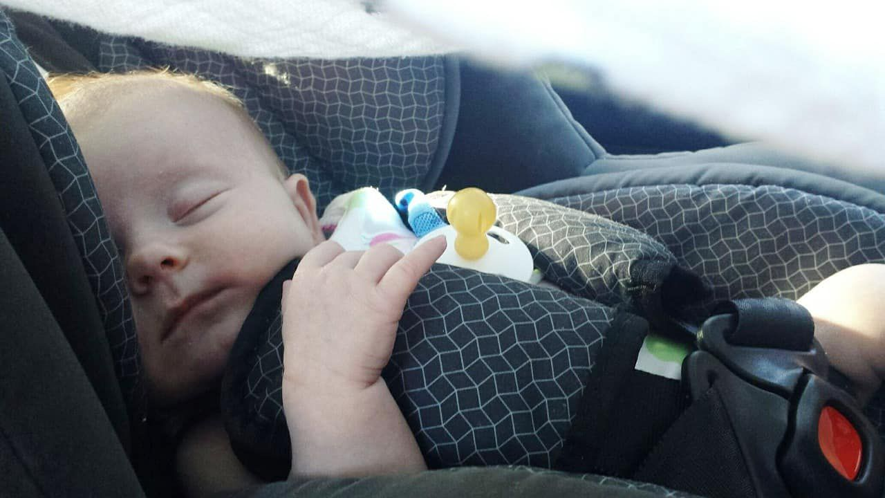 Alcohol doesn't mix with driving or breastfeeding.