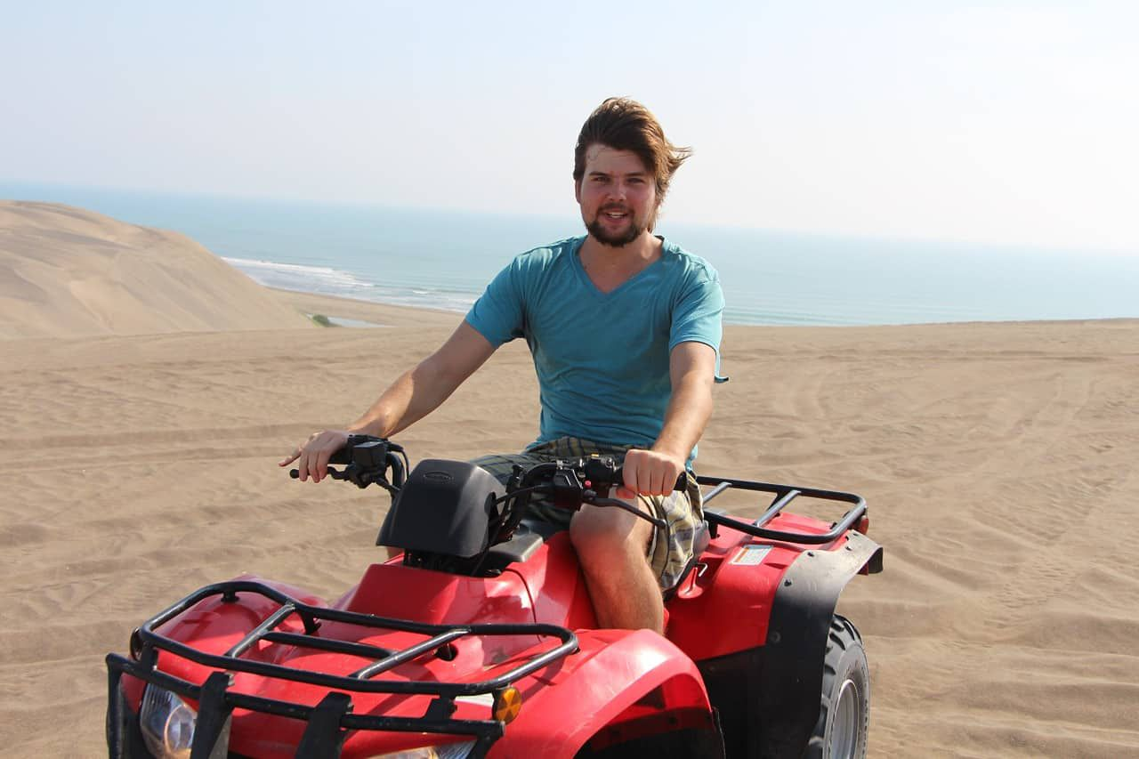 Don't drink and dune buggy in California