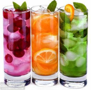 this is a photo of non alcoholic drinks