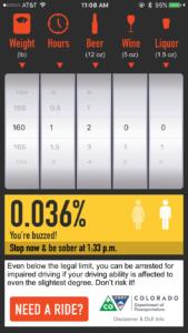 Colorado BAC App